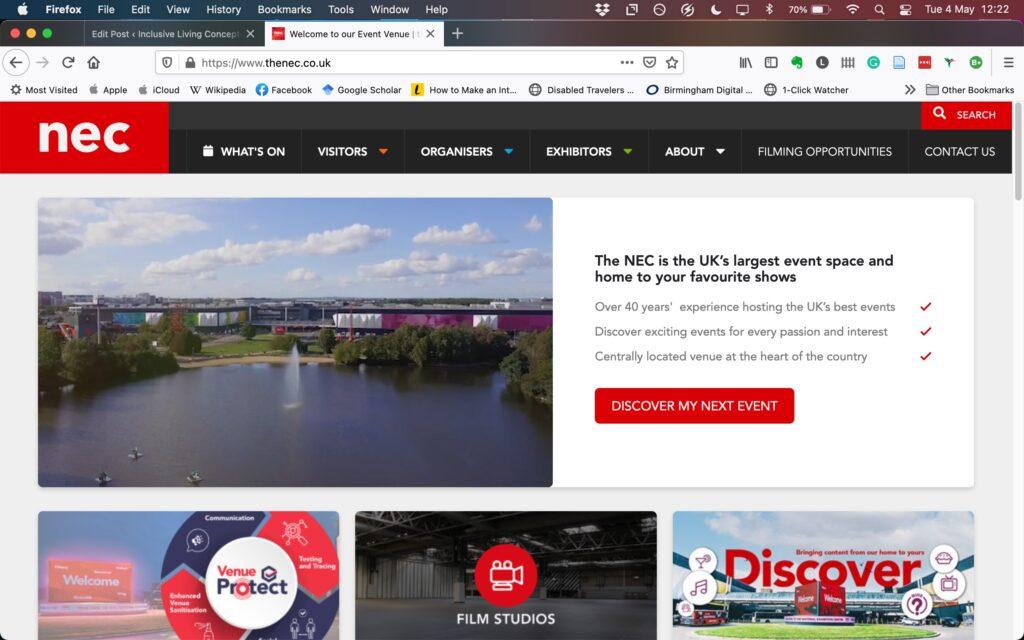 NEC-Website